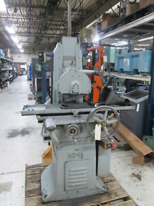 Abrasive Machine Tool Co No 1 1 2 6 x18 220 440v Surface Grinder W walker Chuck