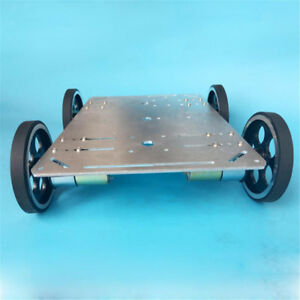 Education Diy C600 4wd Smart Robot Car Chassis Kit Remote Control Wifi