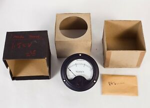 Westinghouse 1160959 a Gauge 0 1 5 Kilovolts Direct Current Cay 22305