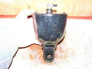Old Reid Pattin Bros Oil City Cast Iron Hit Miss Gas Engine Pot Oiler Oilfield