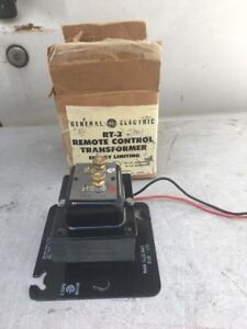 Ge Rt 2 Remote Control Transformer 277 24 V 60hz e