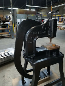 Royersford Excelsior 25 Ton Foot Press Stamping Forming Crimping Machine