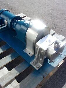 Apv Crepaco Positive Displacement Pump Model R3r Sanitary
