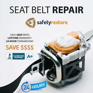 Nissan Seat Belt Repair After Accident Pretensioner Rebuild Safety Restore