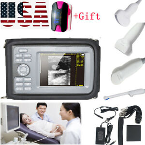 Portable Ultrasound Scanner Digital Machine Human Health Device probes gift Us