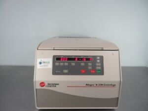 Beckman Allegra X 22r Refrigerated Centrifuge With Warranty See Video