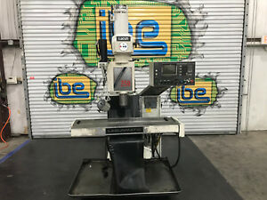 Lagunmatic 250 s Cnc Mill With Dynapath Controller Extra Axis Included