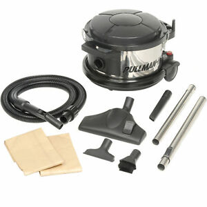 Pullman holt 390asb Hepa Canister Vacuum 1 5 Hp 4 Gallon Lot Of 1
