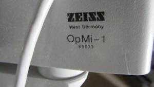 Zeiss Opmi 1 Surgical Microscope