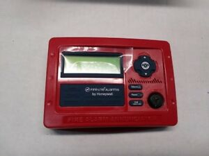 Fire lite Alarms honeywell Ann 80 Remote Lcd Annunciator red