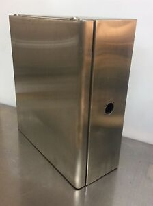Hoffman Pentair Ccc48s505521 Stainless Steel Enclosure Works With Cs480 System
