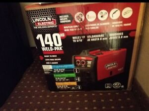 Bnib Lincoln Electric Weld Pak 140 Hd Wire feed Welder K2514 1