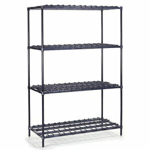 Nexel Heavy Duty Wire Shelving 30 w X 18 d X 63 h Lot Of 1