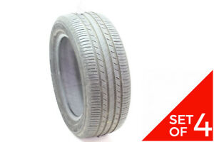 Set Of 4 Used 205 55r16 Michelin Premier A S 91h 5 6 5 32