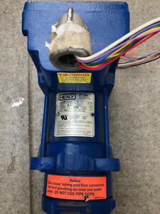 Franklin Fueling Vp 1000 Healy Vapor Vacuum Motor With A Control Modul Used