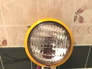 Vintage Yellow Body Light 3 Wire Switch Red Light To Flood Light Ford john Deere