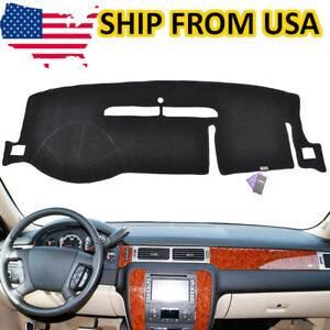 Us Car Dashboard Pad Dash Cover Mat For 2007 2014 Chevy Silverado Tahoe Suburban
