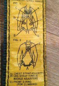 Lineman Tree Climbing Belt Strap Equipment Rose Harness