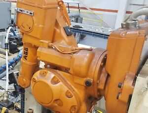 Abb Irb140 m2000 Robot Manipulator Arm W Controller And Teach Pendant