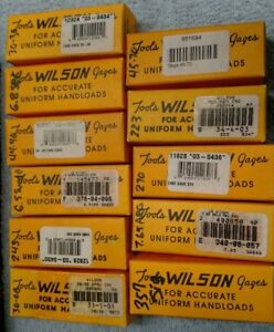 L.E. Wilson Case Length Headspace Gauge 30-30-223-243-44.40-45.70-6.8-270