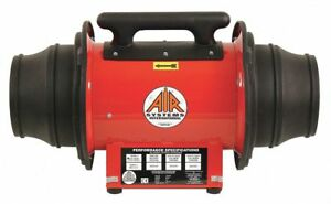 Air Systems International Axial Explosion Proof Confined Space Fan 1 3 Hp