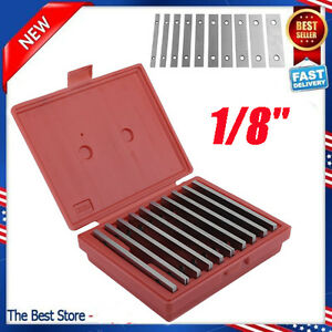 10pair Parallel 6 Long 0 0002 Hardened 1 2 To 1 5 8 1 8 Steel Parallel Set