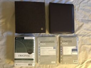 Franklin Covey 1 Yr Planning Pages Accessories Pack Starter Classic