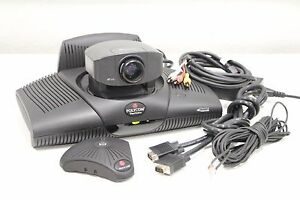 Polycom Viewstation Pvs 1419 Ntsc Isdn Video Conference System With Accessories