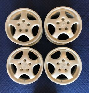 Rare Genuine Porsche 964 Turbo 965 968 M030 928 Cup I Wheel Set 7 5x17