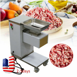 Commercial Meat Slicer Meat Cutting Machine Cutter 500kg 1 Set Blade Store Use