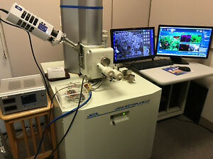 Jeol Jsm 6010plus lv Scanning Electron Microscope With Motorized X y Stage