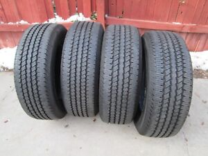 4 New Take Offs Lt275 65r18 Continental Contitrac 275 65 18 Tires 10 Ply Load E