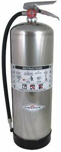 Amerex Fire Extinguisher Water Water 2 1 2 Gal 2a Ul Rating 240 1 Each