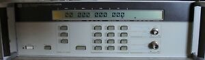 Hp Agilent 5350a 20 Ghz Microwave Frequency Counter W Manual Calibrated