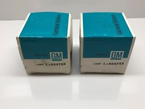 Pair Of New Vintage Gm Guide R 13 Tail Lights