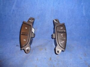 Oem Ford Explorer Expedition Cruise Control Steering Wheel Buttons Set
