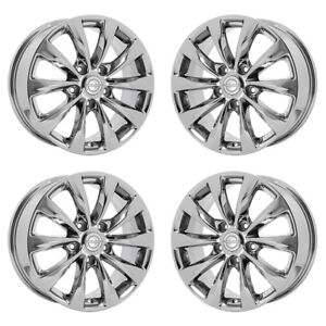 17 Chrysler Pacifica Pvd Chrome Wheels Rims Factory Oem Set 2591 Exchange