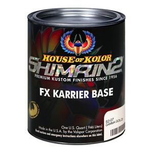 House Of Kolor S207 Gamma Gold Shimrin2 Fx Karrier Base Quart