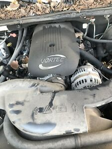 Chevy Gmc 5 3l Lm7 Drop Swap Out Ls Complete Engine Vin T 140k Miles Tested