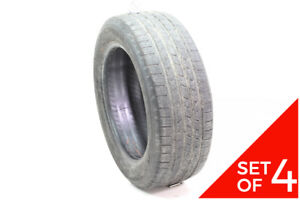 Set Of 4 Used 205 55r16 Michelin Defender 91t 5 32