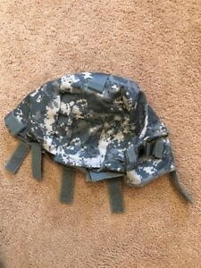 ~NWOT! US MILITARY ACH HELMET COVER W NVG FLAP + IR TABS ACU LGXL MADE IN USA!