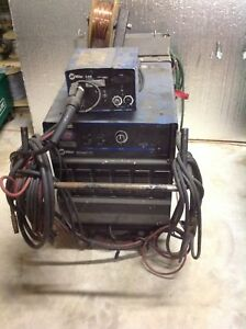 Miller Deltaweld 302 22a Feeder Mig Welder On Cart 3ph 6169 1