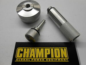Champion 2000 W Generator Ext Run Gas Cap Oil Fill Drain Plug Combo New Model