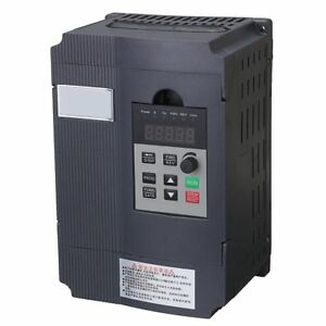 1 5kw Single Phase Input To 3 Phase Output Frequency Converter 220v Vfd Vsd Be