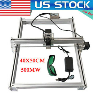 40 50cm 500mw Desktop Laser Cutting engraving Machine Diy Logo Picture Marking