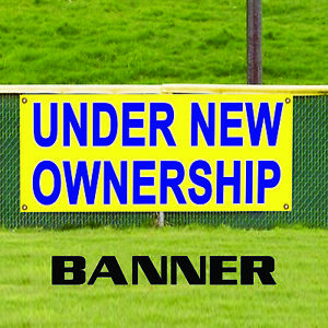 Under New Ownership House Apartment Property Vehicle Outdoor Vinyl Banner Sign