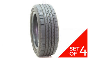 Set Of 4 Used 205 55r16 Michelin Defender 91t 7 7 5 32