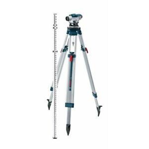 New Bosch 5 6 Automatic Optical Level Kit With A 32x Magnification Power Lens