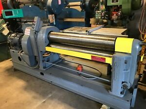 3 8 X 4 Ft Webb Initial Pinch Plate Bending Roll