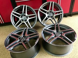20 Inch Mercedes Gl65 Rims Wheels New Set 4 Fits Ml350 Ml550 Gl450 Gl550 Amg